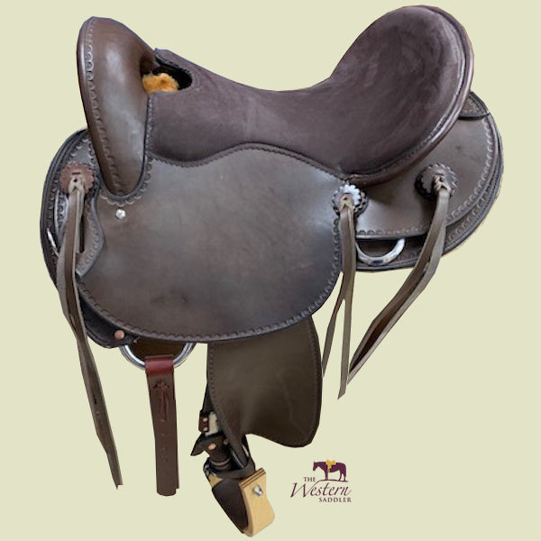 Top Saddlemaker Endurance Saddle with Basic 3D Equiscan Wooden Tree