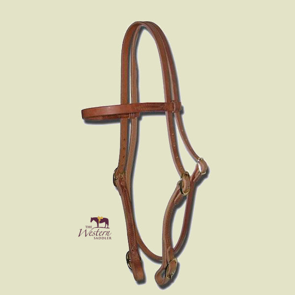 Buckaroo Buckle-On Harness Headstall