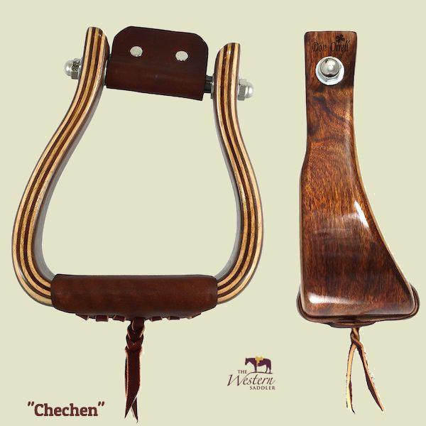 Don Orrell - Angled Offset Stirrup - Premier Chechen