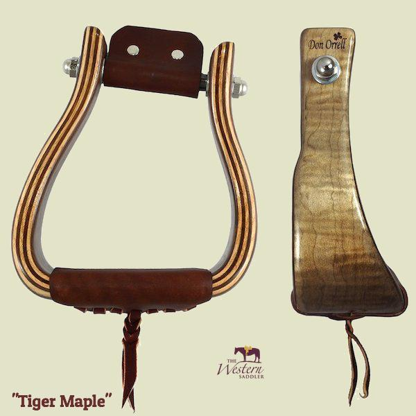 Don Orrell - Angled Offset Stirrup - Premier Tiger Maple