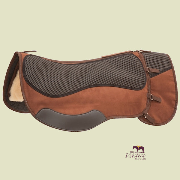 Barefoot® 'Physio Trailpad'pad saddle