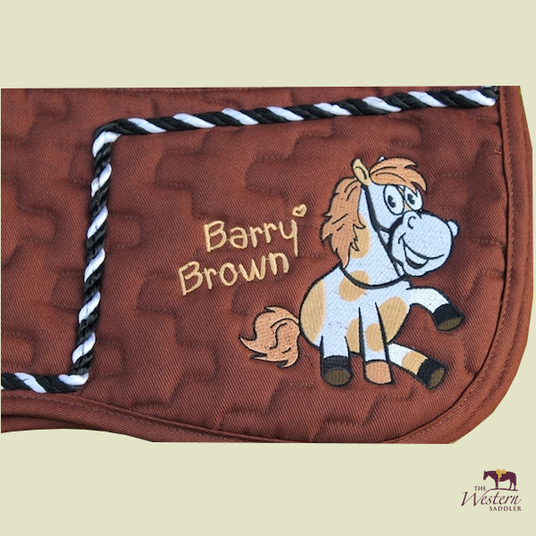 Barefoot® Saddle Pad 'Barry Brown'