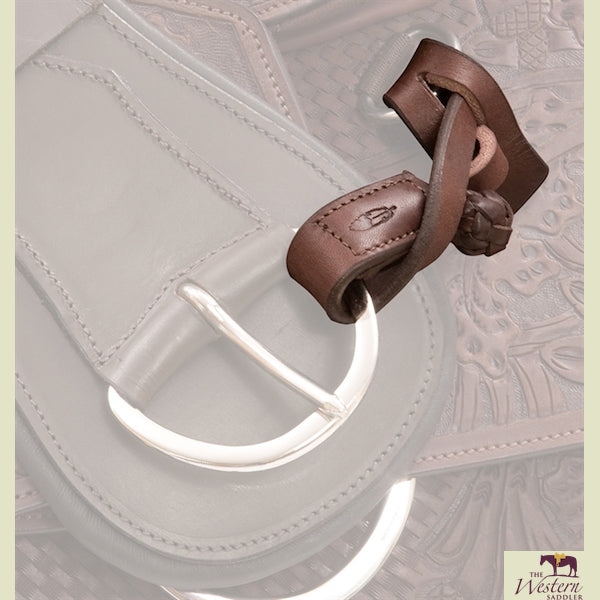 Barefoot® Leather Holder for Girths & Stirrups