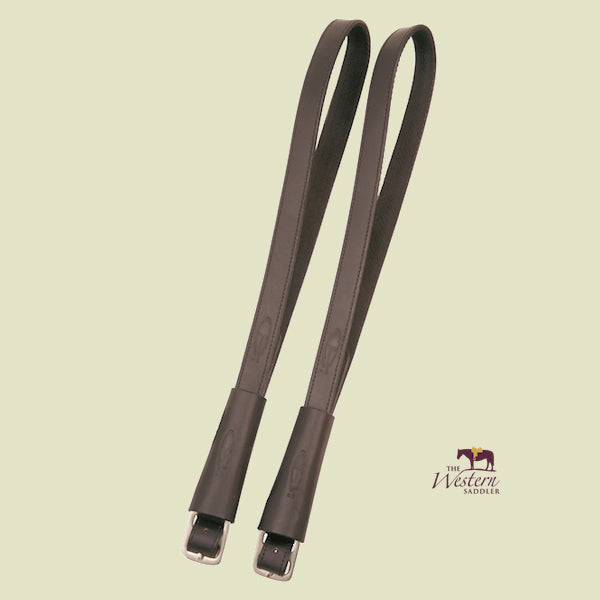 Barefoot® Brown Stirrup Leathers – Special Style