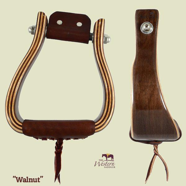 Don Orrell - Angled Offset Stirrup - Walnut