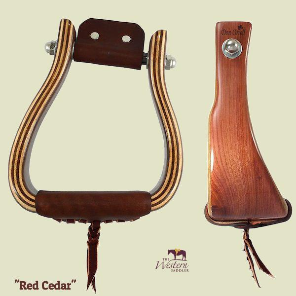 Don Orrell - Angled Offset Stirrup - Red Cedar
