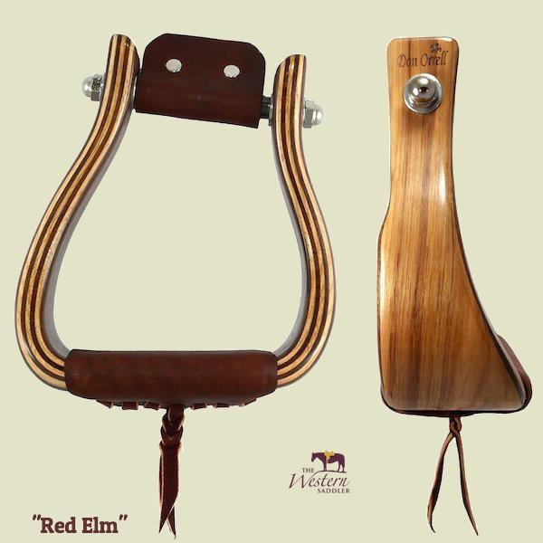 Don Orrell - Angled Offset Stirrup - Red Elm