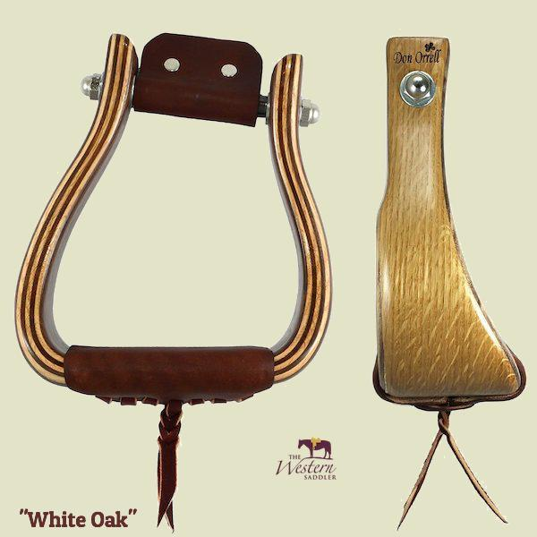 Don Orrell - Angled Offset Stirrup - White Oak