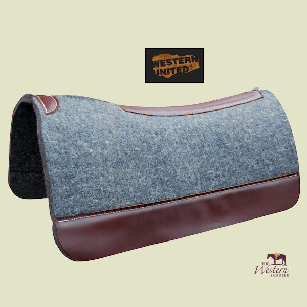 Anatomic Wool Felt Pad with Wear Leathers