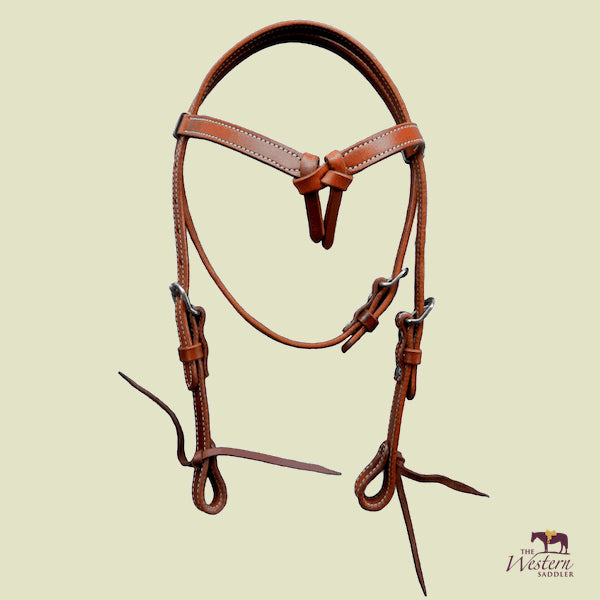 Pony Knotted Browband Headstall