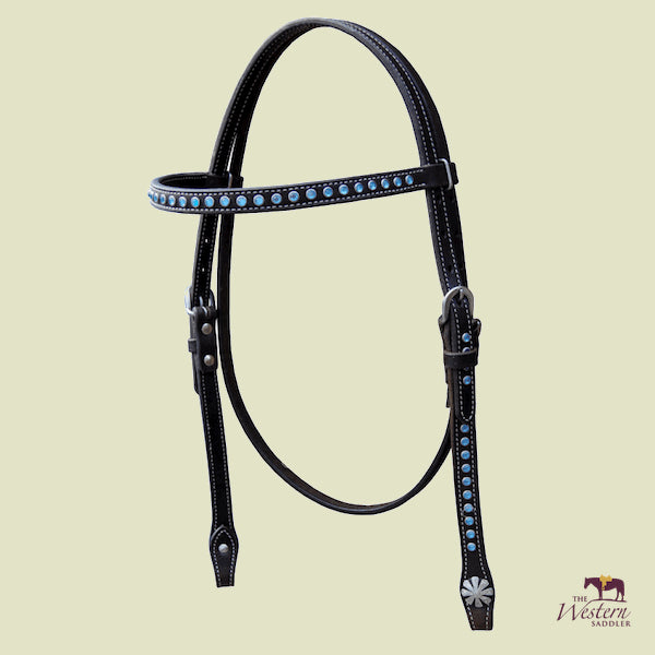 Browband Headstall with Crystals
