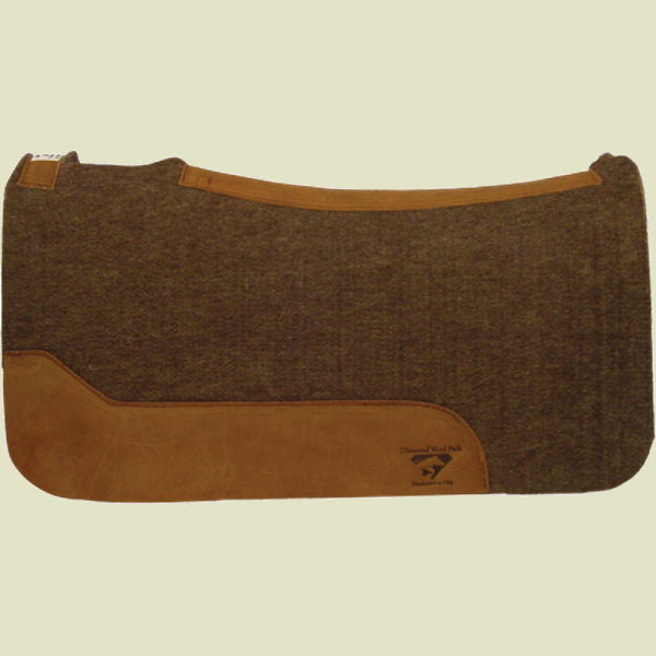 Diamond Wool Sierra Gold Saddle Pad