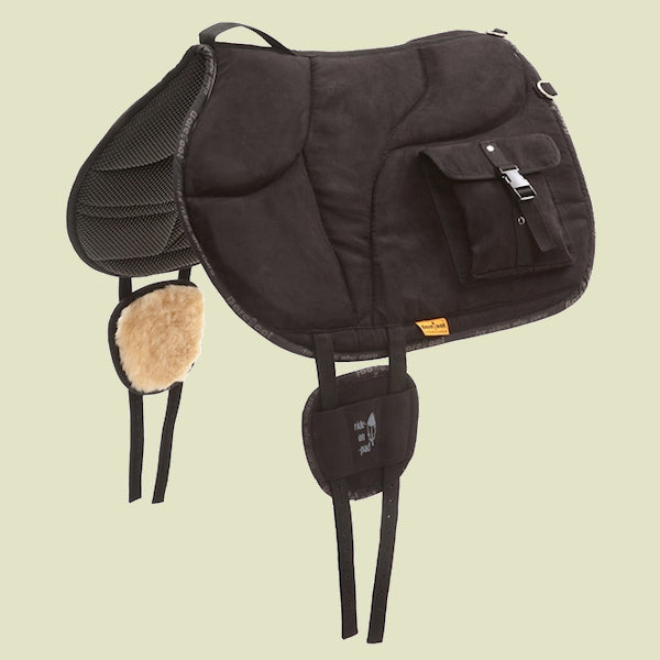 Barefoot Bareback Ride-On-Pad with Bags