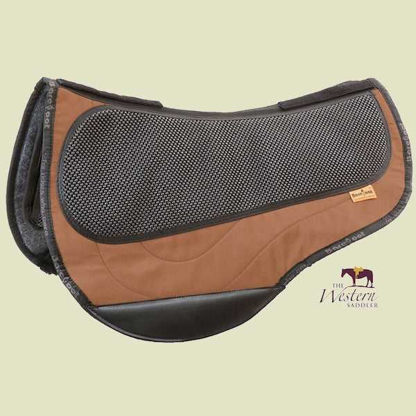 Barefoot Arizona/Atlanta/Happy/Lazy Brown Physio Saddle Pad