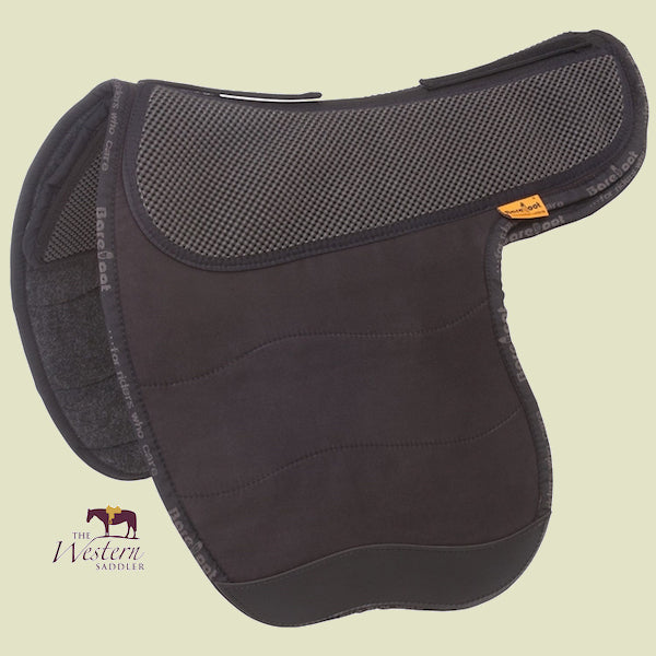 Barefoot Barrydale Black Physio Saddle Pad