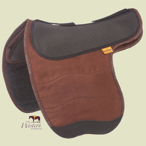 Barefoot Barrydale Brown Physio Saddle Pad