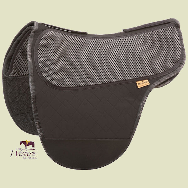 Barefoot Cherokee/Nottingham Black Physio Saddle Pad
