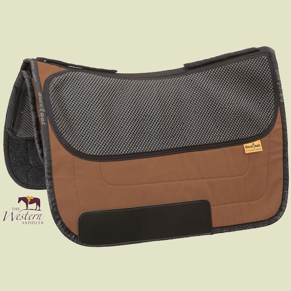 Barefoot Nevada/Madrid Brown Physio Saddle Pad