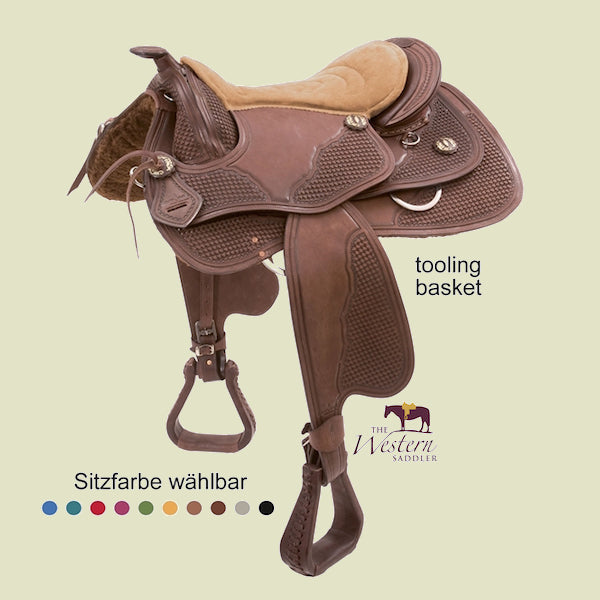 Barefoot® Missoula Nut Saddle