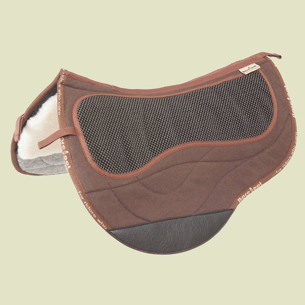 Barefoot Arizona/Atlanta/Happy/Lazy Brown Saddle Pad