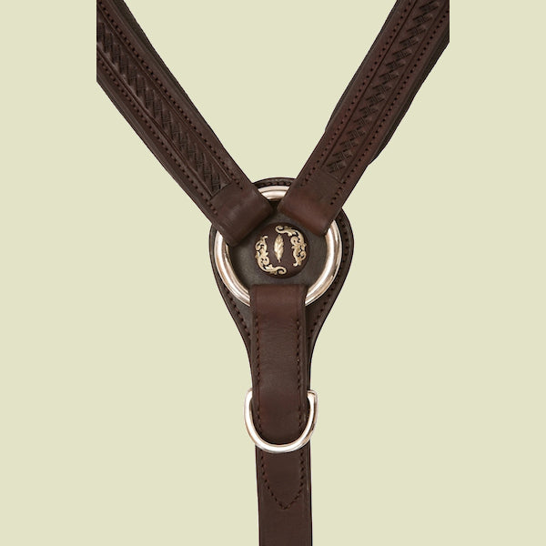Barefoot® Chocolate Oiled Breastcollar
