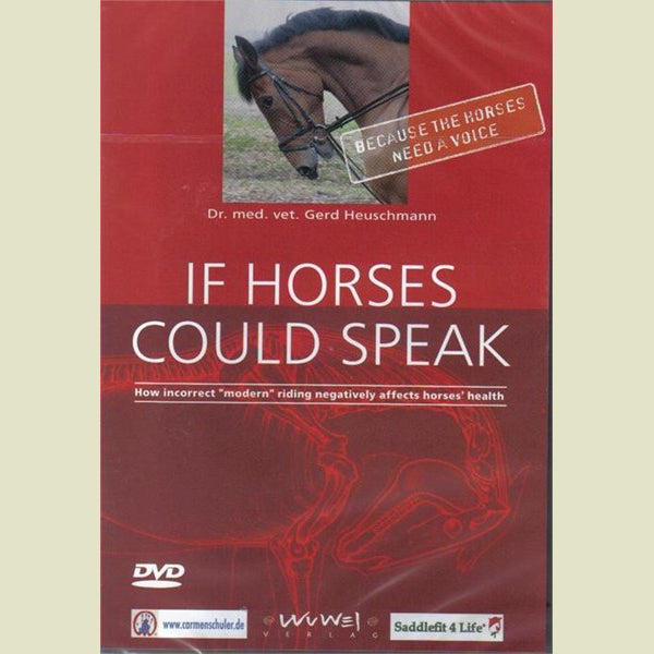 Gerd Heuschmann – If Horses Could Speak DVD