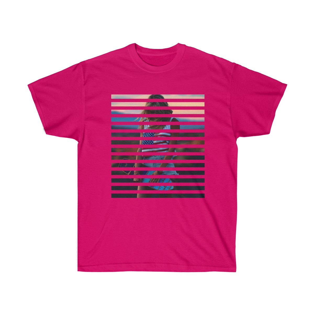 Cassie's American Flag Unisex Ultra Cotton Tee