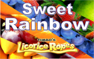 Sweet Rainbow Licorice Ropes are one of our customers top choice! It is an Assorted Blend of Different Flavors.
