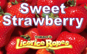 Our Sweet Strawberries Licorice Ropes are a Year-Round Substitute of Field Ripe Self Picked Strawberries with the Typical Strawberry Candy Smell. Absolutely Delicious!