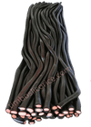 "Our Sweet Chili Licorice Rope has a little ""Kick"" to it but is not considered Hot. A Great Choice if your Taste Buds prefer Sweet & Spicy Food and Candy. This is a Licorice Rope for our Beer Drinkers. Suds and a Rope work well together!"