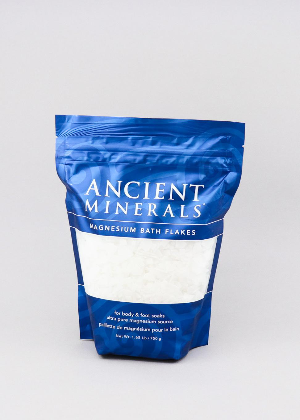 Ancient Minerals - 1lb Magnesium Bath Flakes