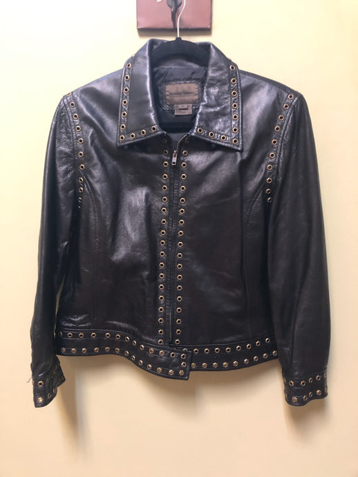 Brandon Thomas Women's Leather Jacket, size XL
