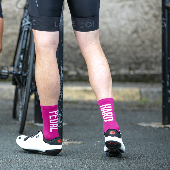 Performance cycling socks for road and mtb riders. Lightweight and durable
