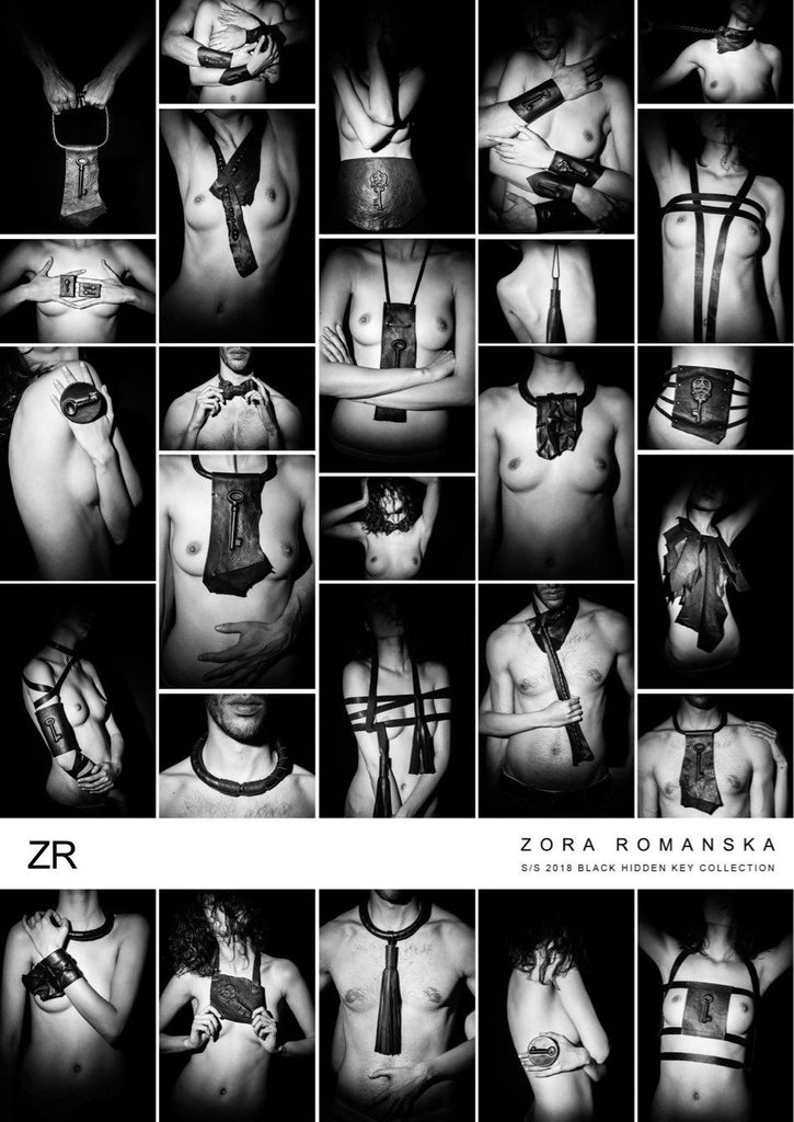 Hidden Collecion @Paris Fashion Week | zoraromanska.com | ZR Zora Romanska - Handmade Leather Jewelry
