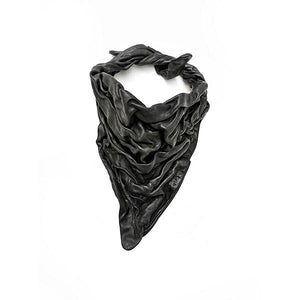 LAVA LEATHER SCARF 2 | zoraromanska.com | ZR Zora Romanska - Handmade Leather Jewelry