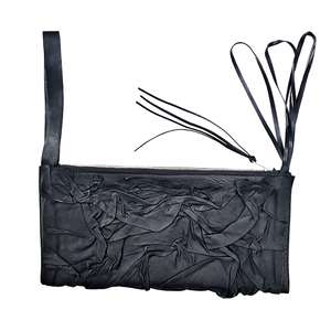 LAVA LEATHER CLUTCH | zoraromanska.com | ZR Zora Romanska - Handmade Leather Jewelry