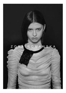 LAVA LEATHER RING NECKLACE 2 | zoraromanska.com | ZR Zora Romanska - Handmade Leather Jewelry