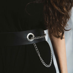LEATHER CHINE BELT | zoraromanska.com | ZR Zora Romanska - Handmade Leather Jewelry