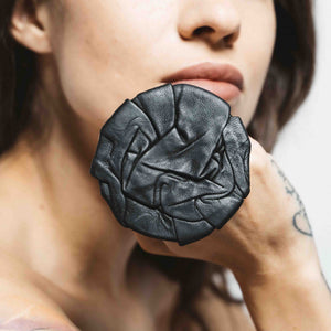LAVA LEATHER RING | zoraromanska.com | ZR Zora Romanska - Handmade Leather Jewelry