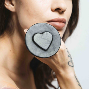 LEATHER HEART RING | zoraromanska.com | ZR Zora Romanska - Handmade Leather Jewelry