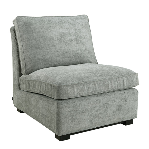 TOWN LOUNGE CHAIR TRUE GREY (två modeller)