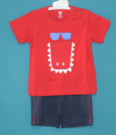 T-Shirt and Pant-Open Flap T-Shirt-Always Hungry-100% Cotton-Unisex