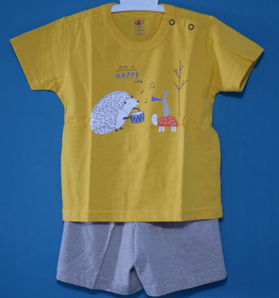 T-Shirt and Pant-Play A Happy Song-100% Cotton-Unisex