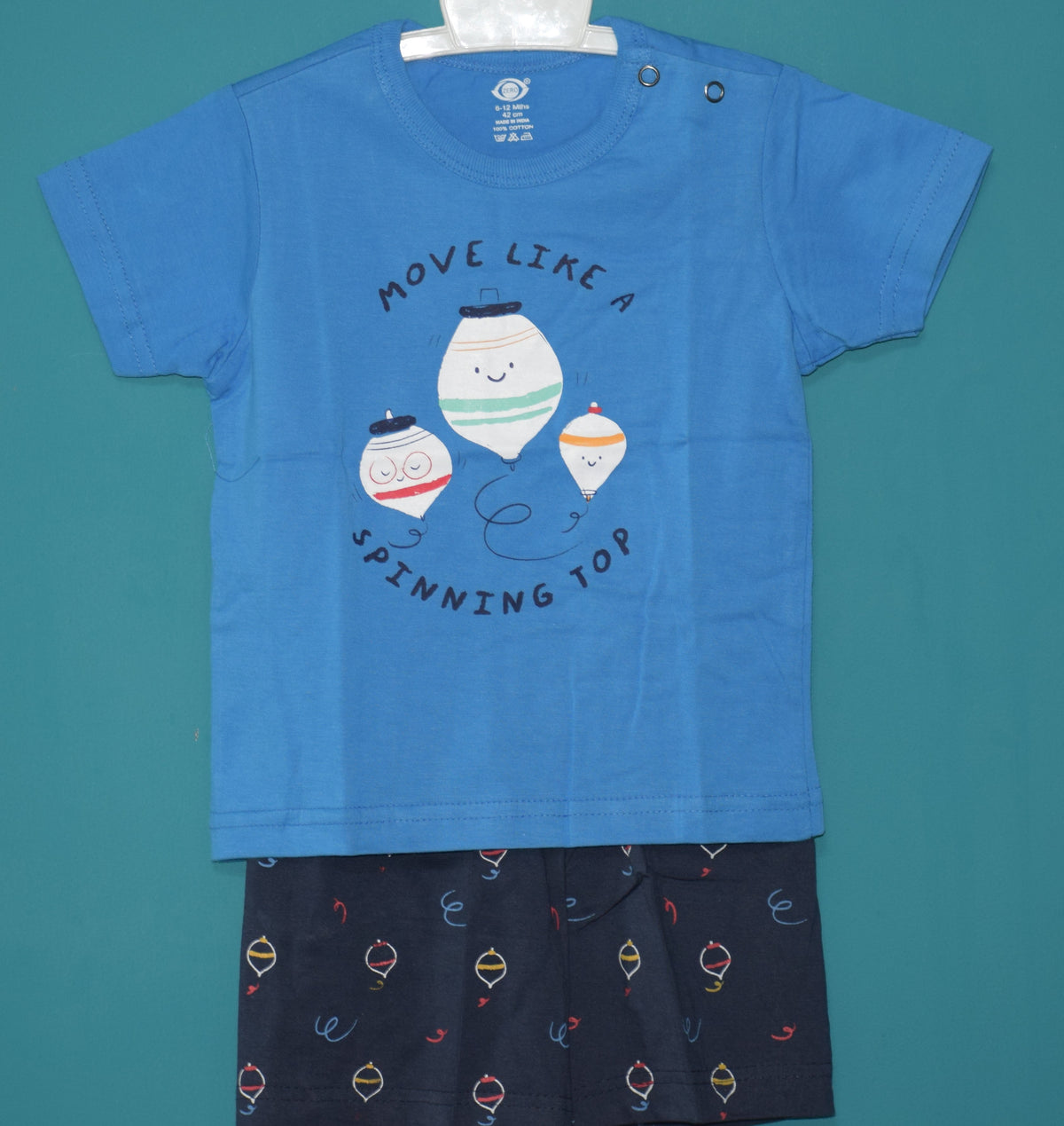 T-Shirt and Pant-Spinning Top-100% Cotton-Unisex