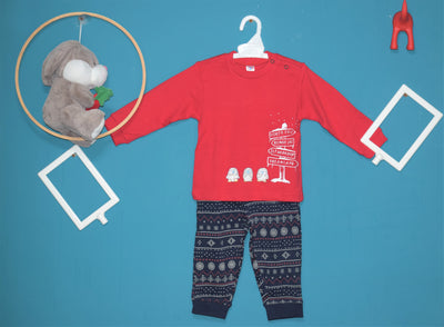 Full Sleeves Suit With Full Pant-North Pole- Unisex-100% Cotton