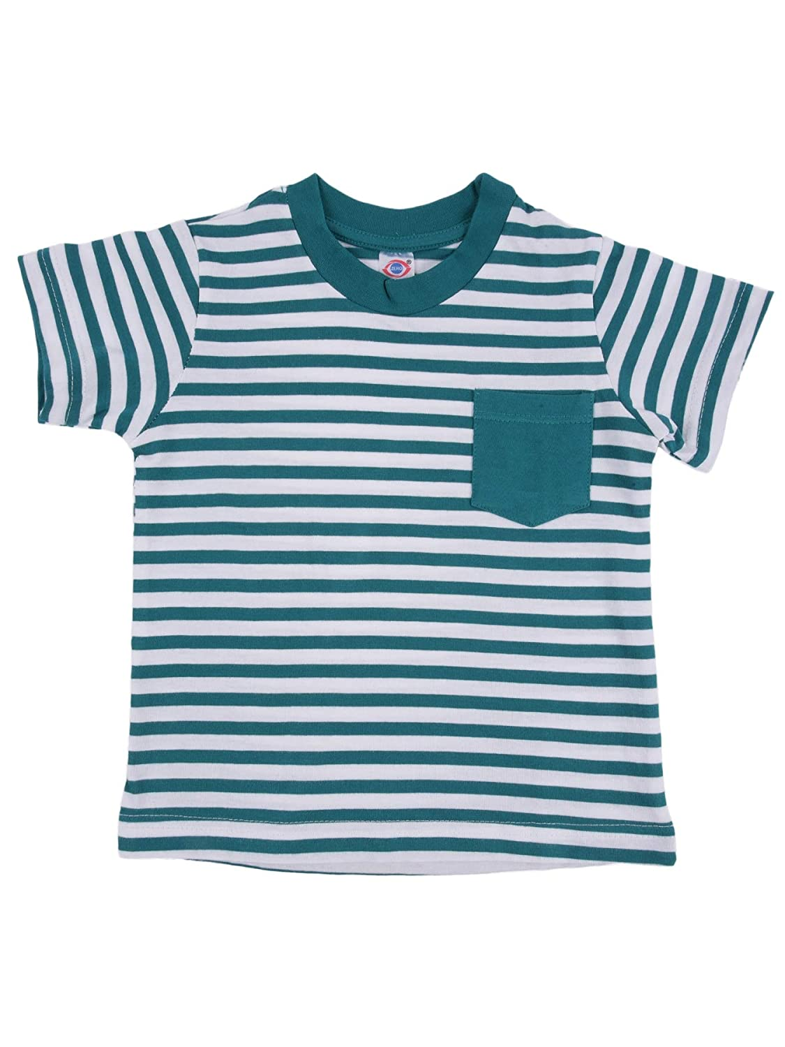 Half Sleeves T-Shirt- Stripes- Unisex- 100% Cotton