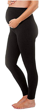 Over-the-Belly Maternity Leggings for Women During Pregnancy