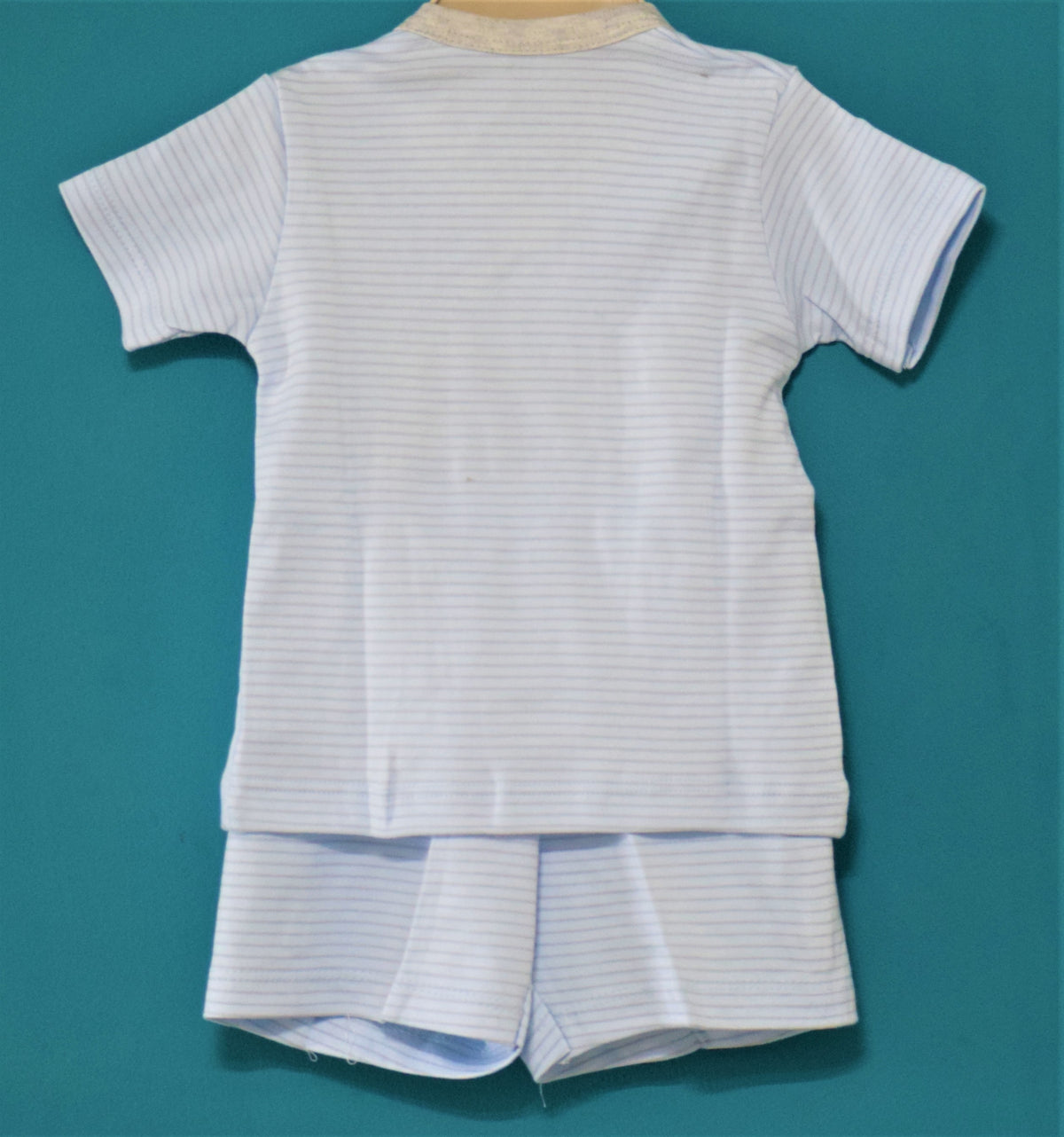Newborn (0-3 M) Side Tie T-Shirt and Pant-Tiger-100% Cotton-Unisex