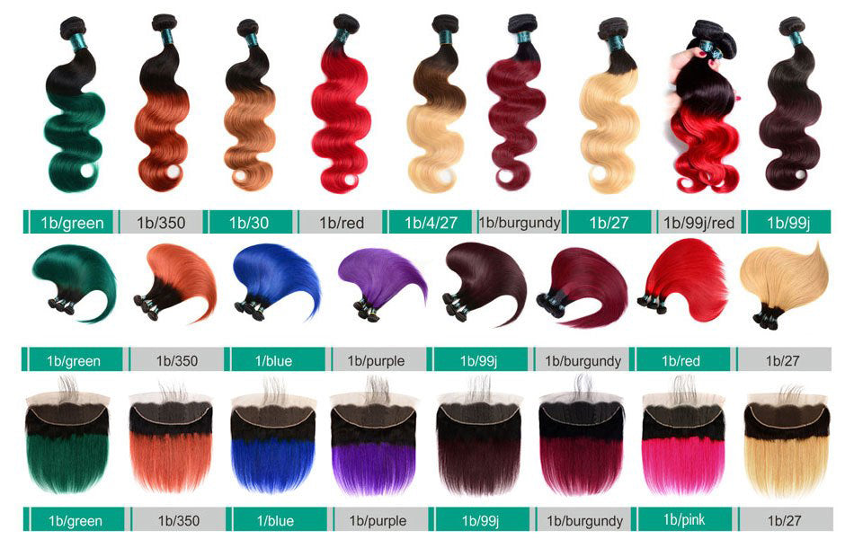 wholesales ombre color hair