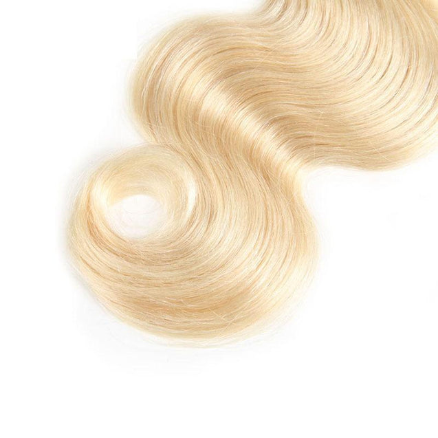 Sulmy 3 Bundles Body Wave #613 Blonde Brazilian Human Hair Weave 613 blonde hair weave SULMY
